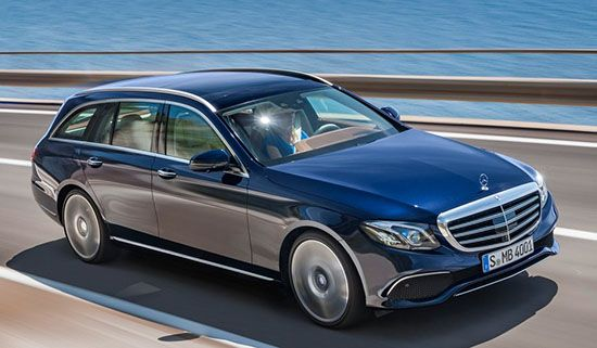 new technology and design.2016 Mercedes E-Class Estate The new businessman is coming!Enjoy the optimal estate for the family in new technology and design.