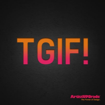 Thank Goodness It's #Friday! #GraphicDesign