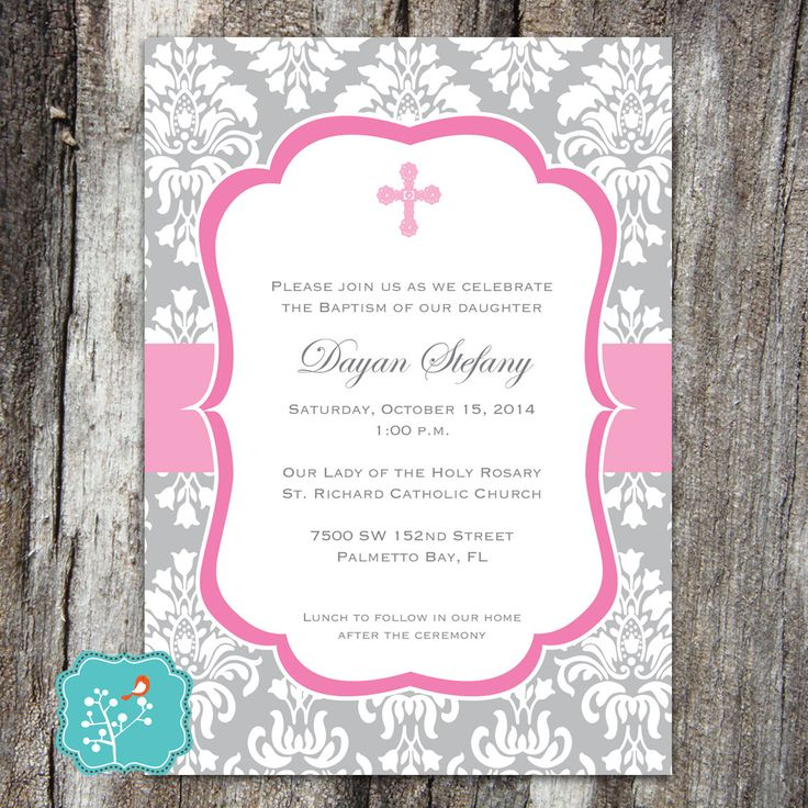79 best Religious Invitations images on Pinterest | Filing ...