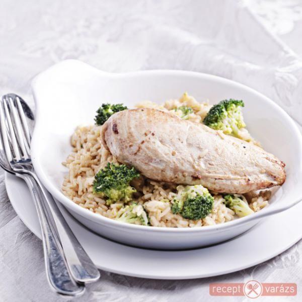 Rizses csirkemell http://receptvarazs.hu/receptek/recept/rizses_csirkemell_recept