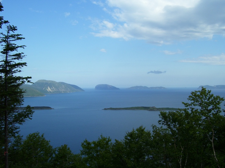 View of Bay of Islands - Ascending Copper Creek Bluff