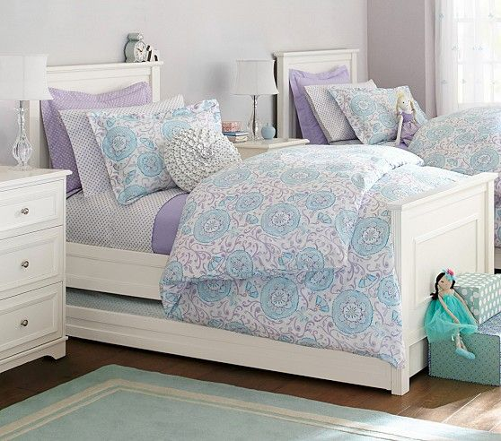 Suzanni Inspired Girls Shared Room Pottery Barn Kids