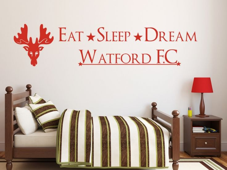 "Football design available with any club or team symbol and name, reads:Eat * Sleep * Dream * Football ClubAdd the team you'd like in the ""Personalise"" field Available in over 20 colours and all personalisation is free!!"