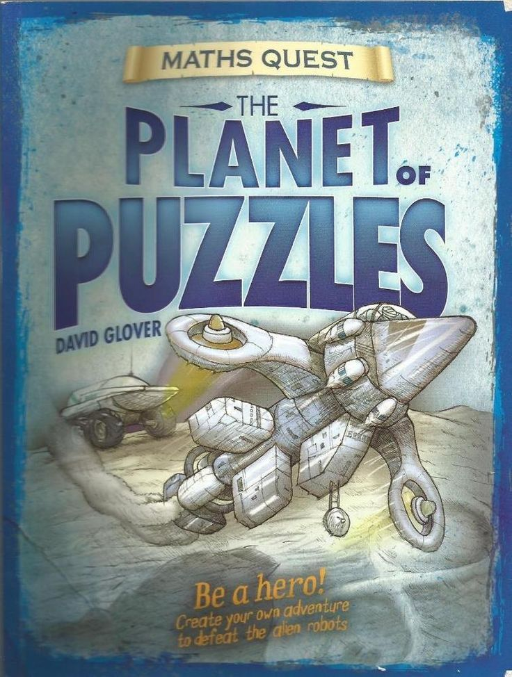 The Planet of Puzzles - Maths Quest by David Glover - Paperback - S/Hand