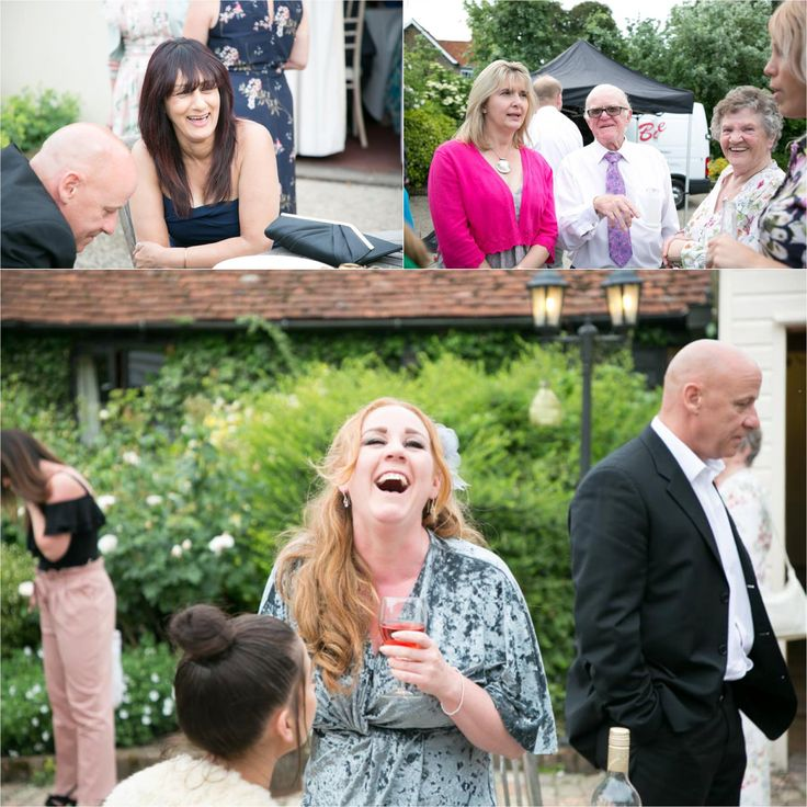 fun wedding photography at the reid rooms, essex