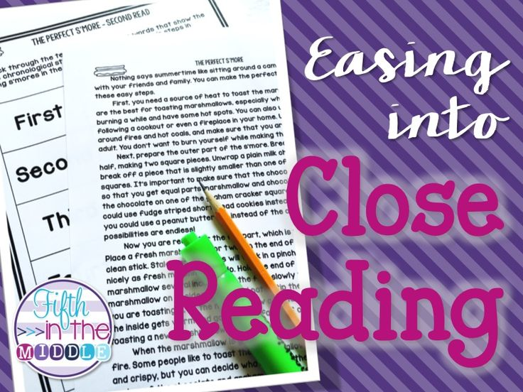Fifth in the Middle: Easing into Close Reading