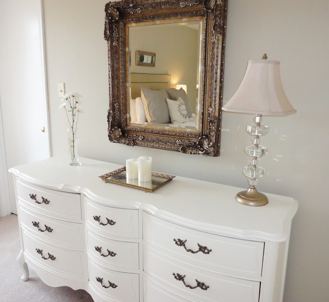 The French Provincial Dresser Makeover in white and original color handles   DIY or have it. 23 best French Provincial Furniture images on Pinterest