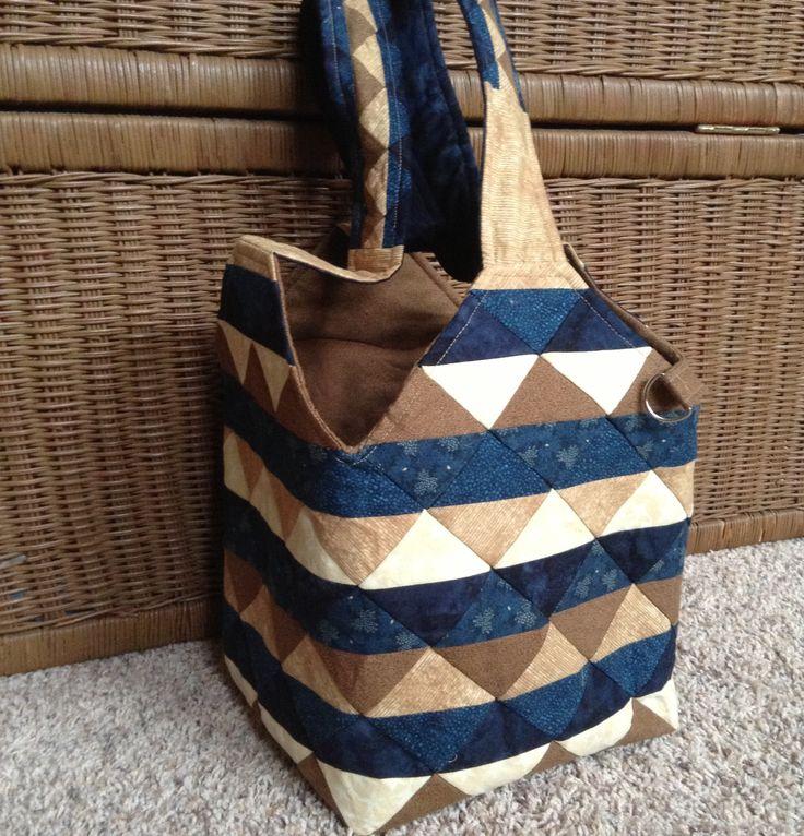 Quiltsmart Midi Bag #sewing #quilting #diy #totebag
