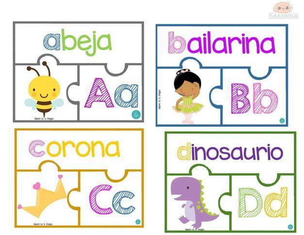 Tarjetas abecedario