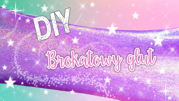 DIY ❤ BROKATOWY GLUT  #fun #slime #glitter #brokatowy #glut #magiczny #zaneta #zielinska #galaxy #diy #hacks #stepbystep #jak #zrobić #magical #glue #borax #borkas #doityouself