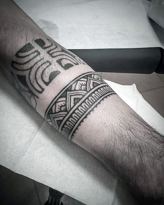 25+ Best Ideas About Forearm Band Tattoos On Pinterest