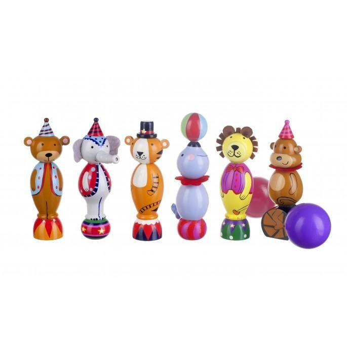 Circus Skittles ξύλινες φιγούρες | Δώρα & Παιχνίδια - ξύλινα -