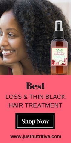 Hair loss is usually caused by tight hairstyles, chemical burns from perms and relaxers, color services, and clogged follicles from chemical laden shampoos, conditioners, and other styling products. This treatment will assist to thicken, strengthen, and help grow hair to healthy proportions within the first month of use.