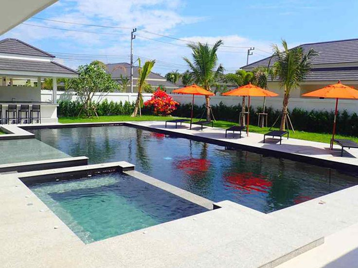 luxury pool villas for sale in hua hin thailand