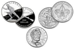 How Much Are My Modern Commemorative Silver Dollars (1983-Date) Worth?: Examples of several United States Commemorative Silver Dollars.
