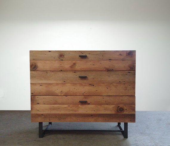Blakeavenue Beautifully Modern Reclaimed Old Growth Dresser