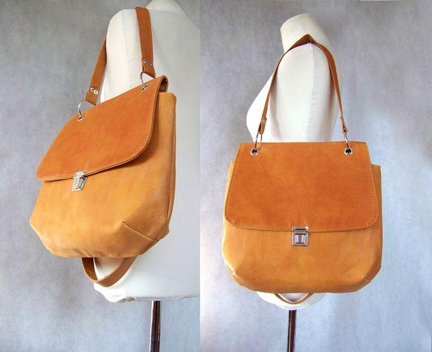 Schultertaschen - Elegante Tasche - Herbstfarben - ein Designerstück von CZAJKACZAJKA bei DaWanda