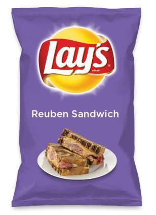 Wouldn't Reuben Sandwich be yummy as a chip? Lay's Do Us A Flavor is back, and the search is on for the yummiest flavor idea. Create a flavor, choose a chip and you could win $1 million! https://www.dousaflavor.com See Rules.