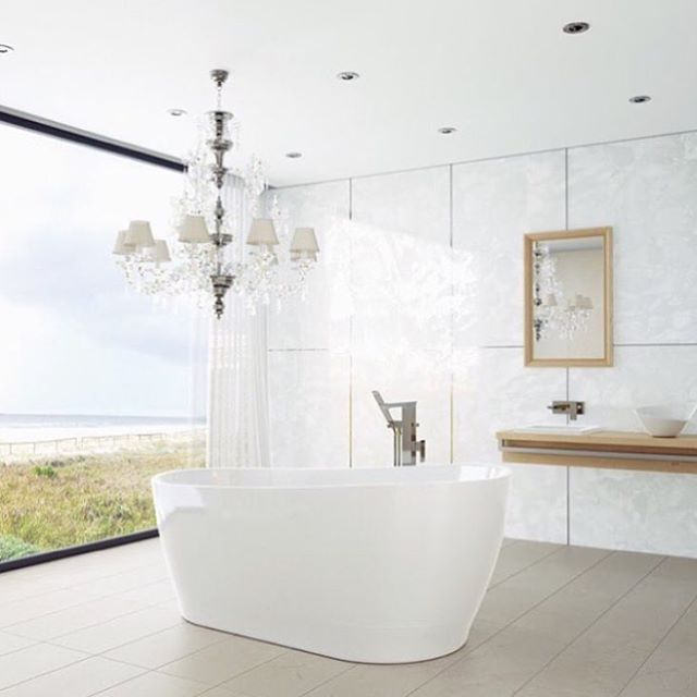 Searching for the right bathtub for your blue space doesn't need to be a chore anymore. Click the link in bio to find out more about which tub suits your bathroom the best, and just how to find them!   Featured: @caromaaustralia Blanc Freestanding Bath, $1,798.