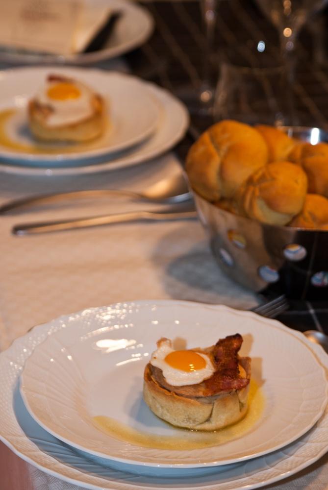 Timballetto di patate (da Alain Ducasse, interpretato da Sophie Dudemaine)