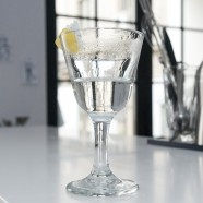 A glass of Vesper Martini may be half full or half empty