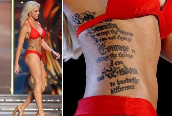 Theresa Vail Miss Kansas | Miss America 2014: Miss Kansas Theresa Vail on tattoos, bikinis and ...SHE IS IN THE ARMY NATIONAL GUARD!!!!!!!!!!!