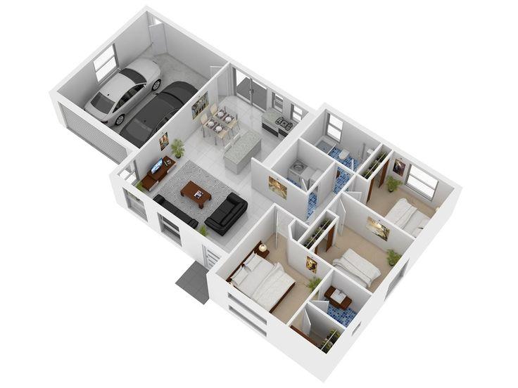 72 Best Images About 3d House Plan On Pinterest 3d