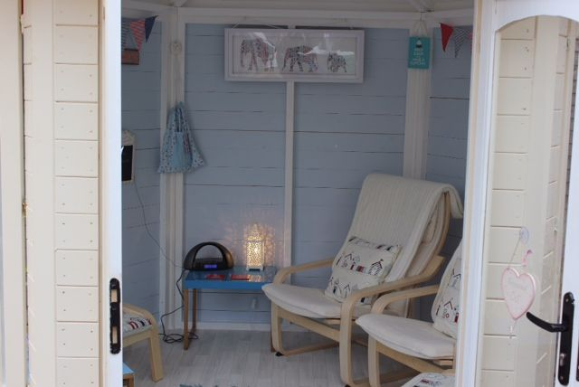 Pam's #summerhouse is the perfect garden retreat, she said 'Our summerhouse has opened up the outdoors for us, it's where we now spend most of our time and our granddaughters love it too.'