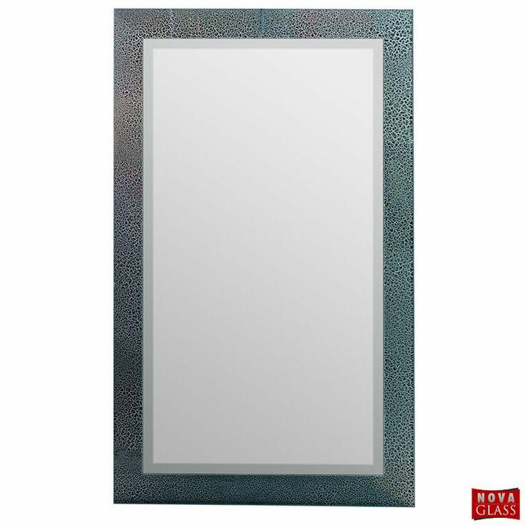 Καθρέπτης μπάνιου με κρακελέ τεχνοτροπία Νο Κ22
