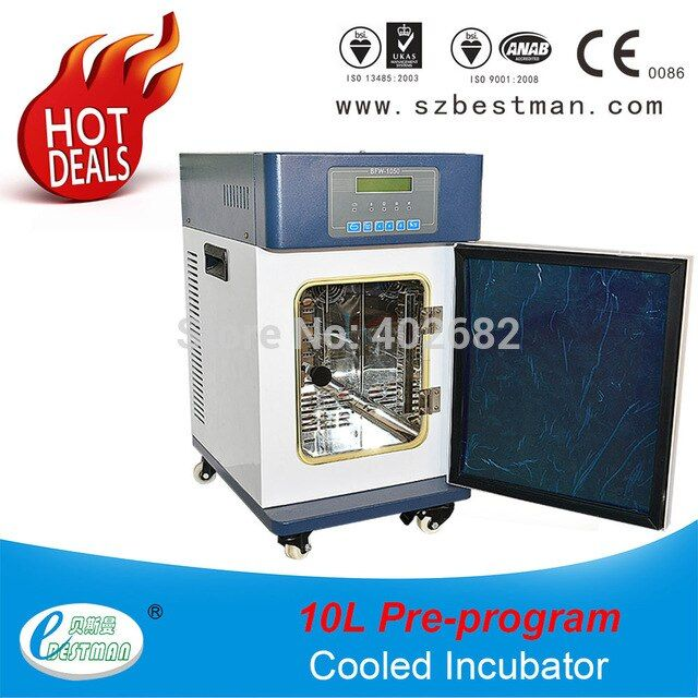 10l H Lab Heating And Cooling Incubator Medical Liquid Warmer Cool