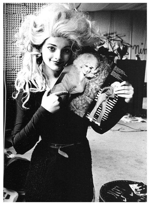 Nina Hagen, 1978. Photo by Jim Rakete