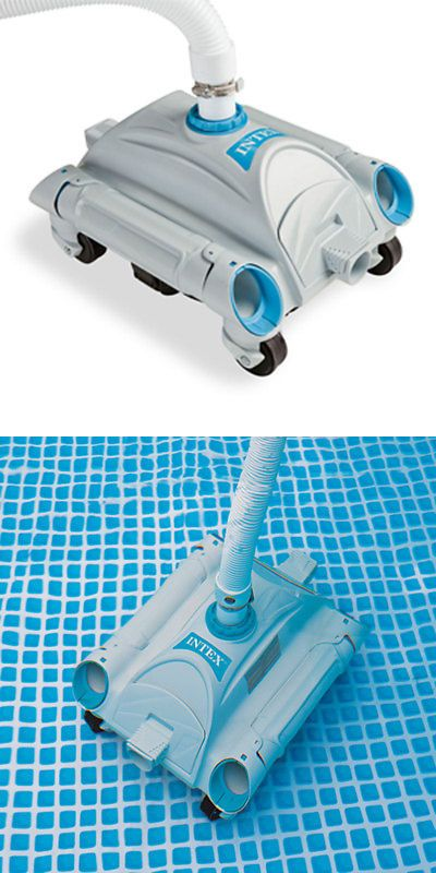 Pool Cleaners and Vacuums 181063: Intex Refurbished Automatic Vacuum ...