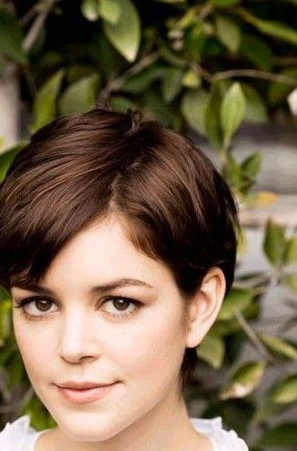 pixie cuts for oval, heart and square faces