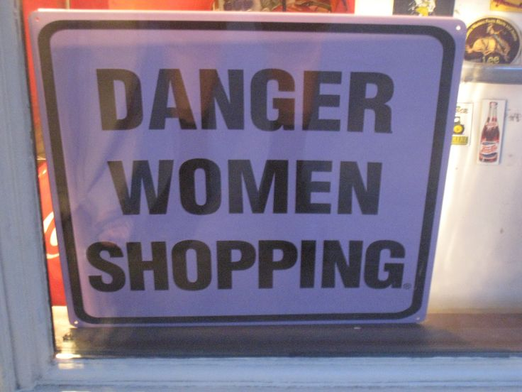 shopping and women
