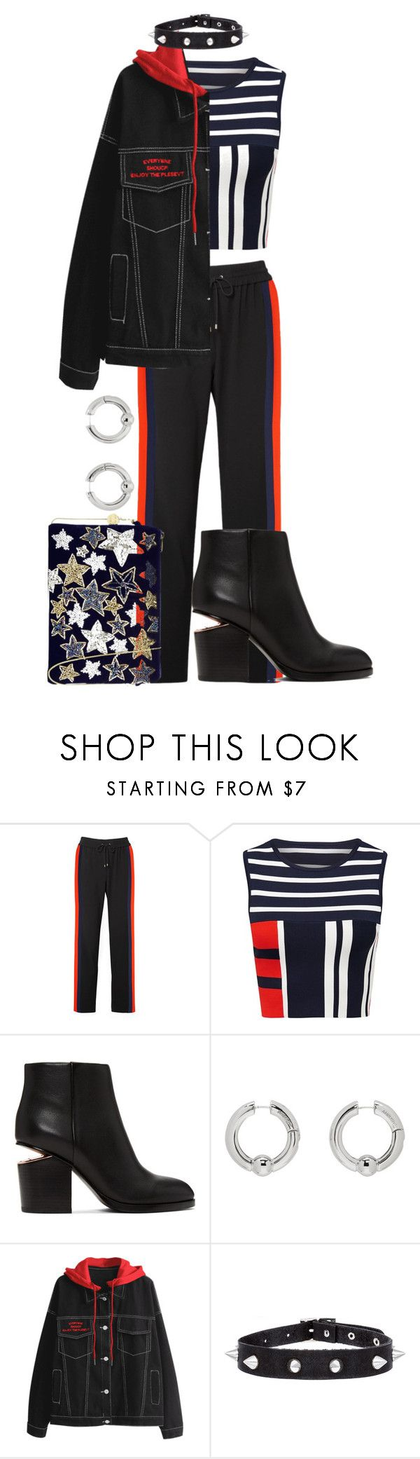 """Wait"" by maxine128 ❤ liked on Polyvore featuring Kenzo, Alexander Wang, AMBUSH and From St Xavier"