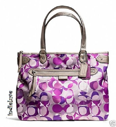 coach wallets for women outlet azgf  purple coach tote bag