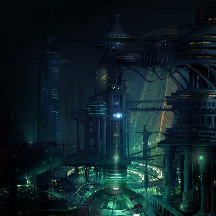 Scenery | Sci-Fi Art