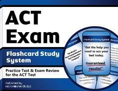 ACT Flashcards. Proven ACT test flashcards raise your score on the ACT test. Guaranteed.