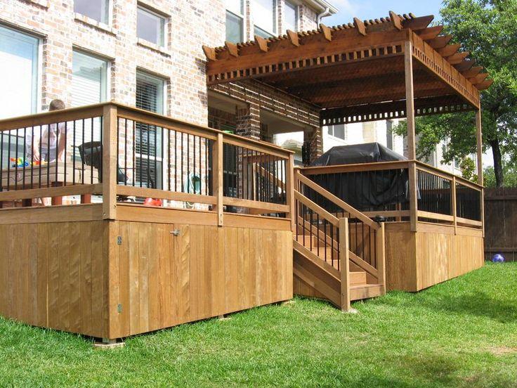 Best Inspirational Deck Skirting Ideas #Decks #Skirting #Homedeocor