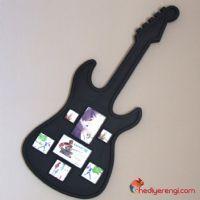 Büyük Boy Gitar Tasarımlı Resim Çerçevesi
