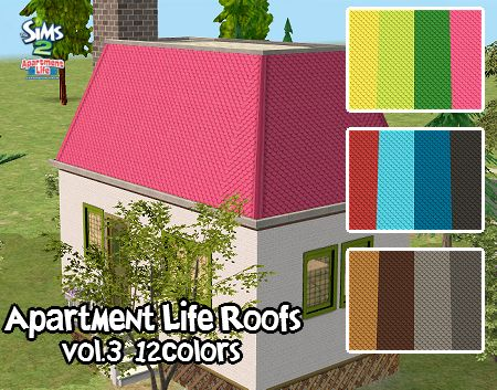 Make Normal Roof Pattern Out Of This Apartment Life Roof Recolor?