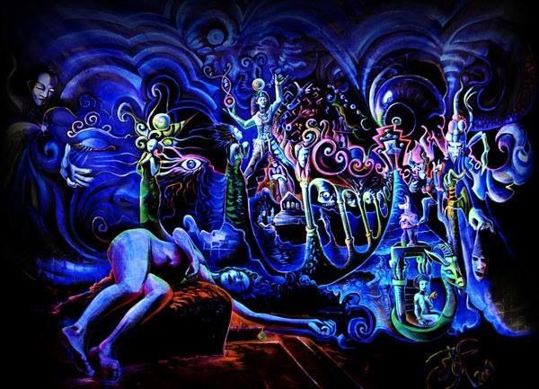17 best images about psychedelic on pinterest for Trippy house music