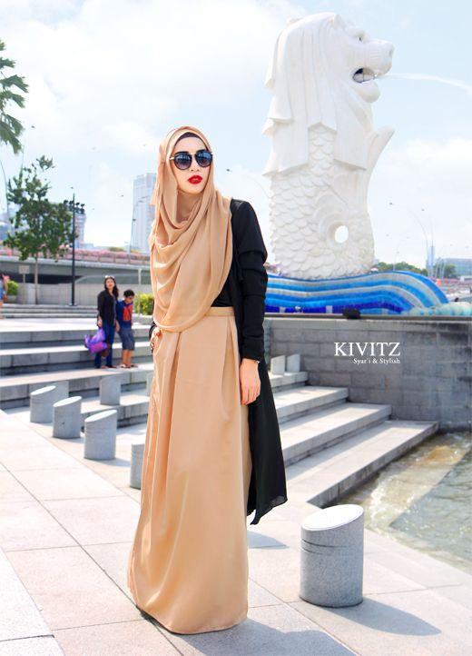 Fitri Aullia, Indonesian fashion designer. ♥ Muslimah fashion & hijab style