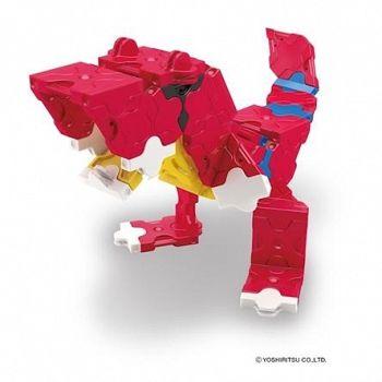 En LaQ-byggsats som innehåller 88 st LaQ-bitar samt instruktioner på hur man bygger en T-rex. En kreativ present som passar barn och vuxna från fem år.