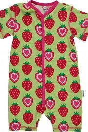 Maxomorra Rompersuit kruippakje Strawberry