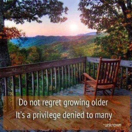 Do Not Regret Growing Older It Is A Privilege Denied To: 25+ Best Ideas About Never Grow Old On Pinterest