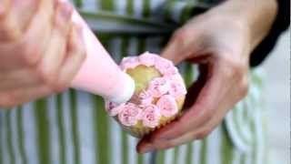 Technique de glaçage facile pour cupcake (vidéo) / Easy cupcake frosting technique (video)