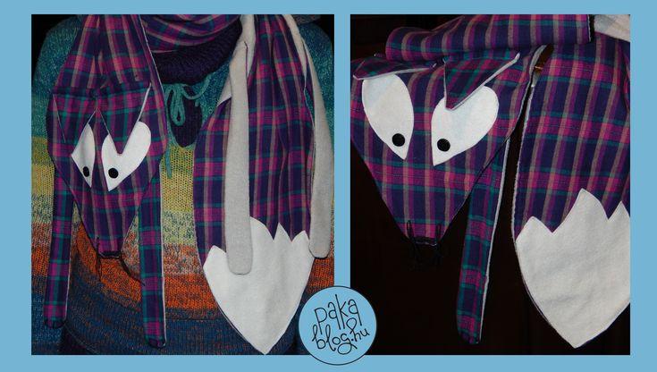 DIY FoX scarf