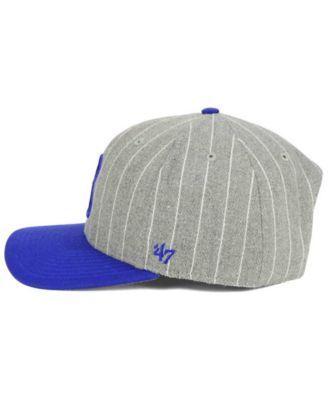 '47 Brand Brooklyn Dodgers Holbrook Cap - Gray Adjustable