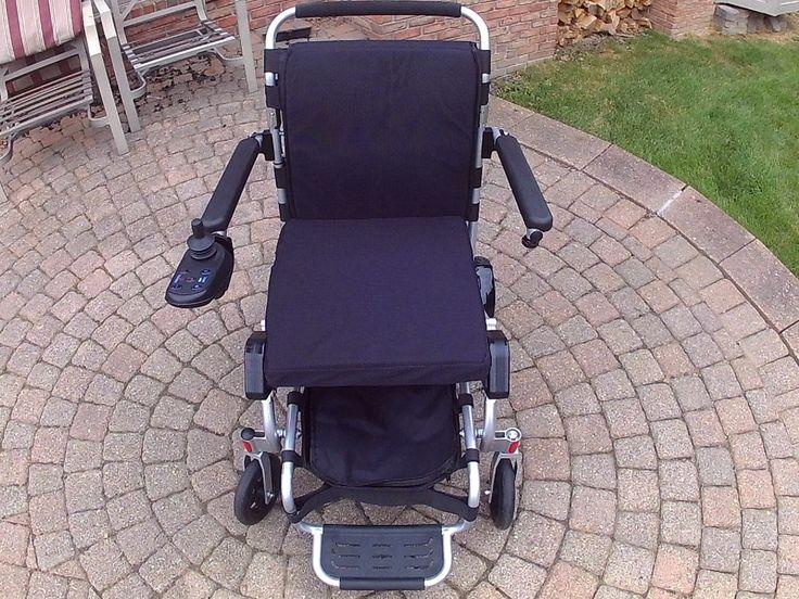 USED Air Hawk Power Folding Wheelchairs Wheelchair